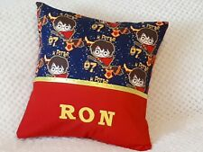 HARRY POTTER - Child's/Boys/Girls/Teens Personalised Character Cushion Cover -