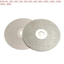 4'' 100mm Electroplate Diamond Grinding Wheel Discs Angle Grinder Grit 80 - 3000