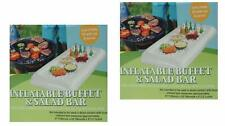 Inflatable Cooler Serving Tray (2 Pack) Buffet and Salad Bar