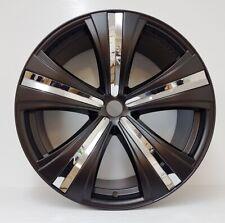 "4 x 22"" leghe Nero Savoy RUOTE ET45 per: MERCEDES ML, GL, AUDI Q7, VW,"