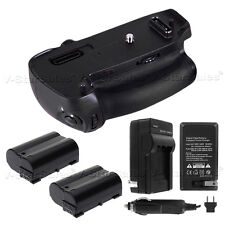 Battery Grip for Nikon D750 +2x EN-EL15 Replacement Battery+ AC/DC Charger