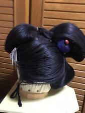 Katsura Wig for Uchikake Kimono wedding Cosplay makeup W/case and hair pins F/S