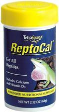 Tetra 16953 ReptoCal Calcium W/ D3 Supplement 2.12oz Powder supplement powdered