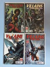 Villains for Hire # 0.1, 1, 2 and 3 Marvel Comics VF-NM 2012