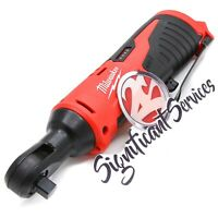 """Milwaukee 2457-20 M12 12V 3/8"""" 12-Volt Cordless Lithium-Ion Ratchet Tool Only"""