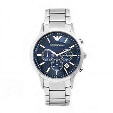 Imported Emporio Armani AR2448,mens NEW chronograph watch.blue colour