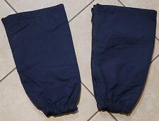 New listing Used Navy Unisex, One-size Adult, Insulated, Zippered Ski Leg Gaiters