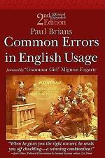 Common Errors in English Usage 2nd Edition, Paul Brians, Good Book