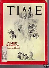 Time Magazine Poverty in America May 17, 1968