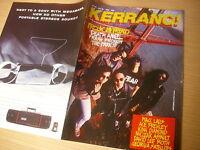 KERRANG  Great Classic  Rock / Heavy Metal magazine  18/06/1988  #192