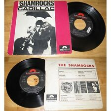 THE SHAMROCKS - Cadillac +3 Rare French EP Garage FreakBeat Psych 1965