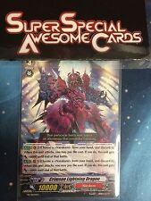 Cardfight!! Vanguard Crimson Lightning Dragon PR/0044EN Near Mint Fast Shipping!