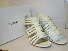 Alfani New Womens Strappy Wedges Apache Creme 6 M Heels Sandals Shoes