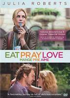 Eat Pray Love (DVD, 2010) BILINGUAL FREE SHIPPING IN CANADA