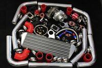 BMW E30 E36 M3 Z3 Z4 325 E46 328 T3/T4 TURBO CHARGER 25 PSI PIPING KIT W/ BOV WG