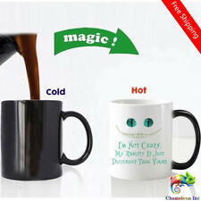 Funny smile face Color Changing Coffee mugs heat sensitive Magic Tea Cup mug