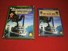 Spiele Sammlung Mississippi Queen SdJ + Erweiterung The Black Rose - unbespielt