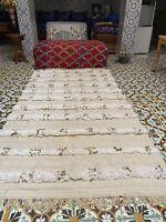 Moroccan HANDIRA wedding blanket 8ft x 4ft Handmade Hanbal/berber bed cover
