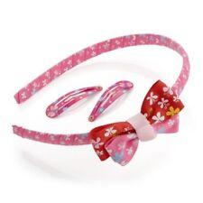 Accessori rose senza marca in poliestere per bambine dai 2 ai 16 anni
