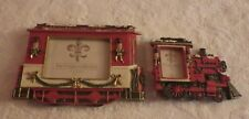 "Prinz Unique Picture Frame Set Trains Train Holds 6"" x 4"" & 1.5"" x 2"" Photo New"