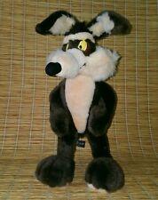 """Wile E Coyote Poseable Plush 20"""" Vtg 95 Road Runner Warner Bros Studio Store Toy"""