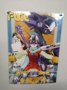 FLCL Fooly Cooly Plastic Transparent Poster Anime Licensed MINT