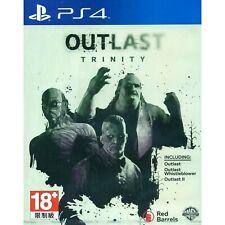 Outlast Trinity (Sony PlayStation 4, 2017) (Outlast I, II und Whistleblower)