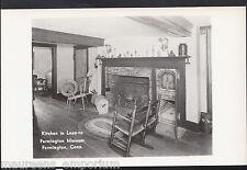 America Postcard - Kitchen in Lean-To, Farmington Museum, Conn   EE244