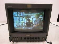"Sony PVM-8041Q Trinitron Color Video Monitor 8"" Studio Unit"
