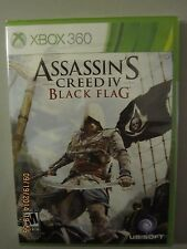 XBOX 360 GAME ASSASSIN'S CREED IV BLACK FLAG *BRAND NEW & FACTORY SEALED*