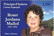 [CF7279] Andorra 2018, Roser Jordana Mallol (MNH)
