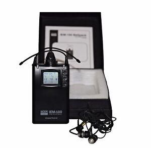 DAP-Audio IEM-100 PLL UHF Belt-pack Funk Receiver 822-846 In Ear System