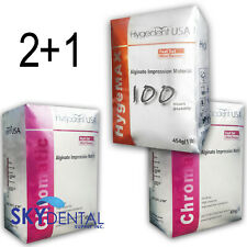 2 Hygedent Chromatic Amp 1 Hygemax 100 Dental Fast Impression Alginate