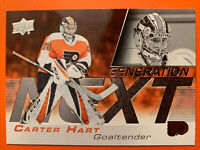 2019-20 Upper Deck Series 1 Generation Next #GN-1 Carter Hart Philadelphia
