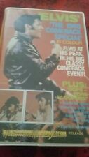 ELVIS THE 1968 COMEBACK SPECIAL - RARE PRESLEY CLAMSHELL VHS VIDEO