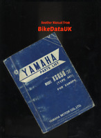 Yamaha XS650 (1977 >) Factory Parts List Catalog Book Manual XS 650 447 1U3 BR74