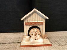 OLD ENGLISH SHEEPDOG THE DOG HOUSE HANDMADE ROSEMARY JONES  (232)