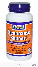 NOW Foods Menopause Support 90 VCaps, Improved Formula.. Fast Shipping