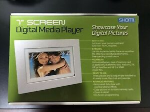 Shomi 7 Inch Digital Media Player --New In Open Box-