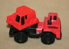 Tonka Construction Miniature Machinery Hasbro Plastic Red 2003