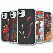 For iPhone 11 Silicone Case Cover Marvel Deadpool Collection 2