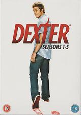 Dexter, Staffeln 1 2 3 4 5 1-5, 21 DVDs Box ,NEU & OVP