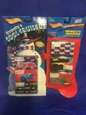 2 HOT WHEELS 3 PACKs OF Kringle's Kruisers & Frosty's Cool Cruisers