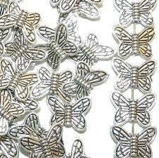 MBL773L2 Antique Silver 15mm Butterfly Metal Beads 100/pkg