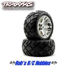 TRAXXAS Anaconda Tires w/All-Star Front Wheels Chrome(TRA5577R)