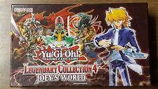 Yugioh Legendary Collection 4 Box & Playmat *Read Description*