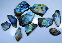 Natural Multi Flash Spectrolite Labradorite Rock Rough Slab,Tile Gemstone