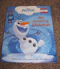 Disney's FROZEN: AN AMAZING SNOWMAN, Hardcover - NEW