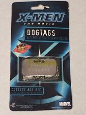 X-Men: The Movie (2000) Authentic Collectible Dogtag *CYCLOPS* Brand New