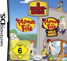 Nintendo DS 3ds Phineas y Ferb 1 + todo trapo doble pack como nuevo